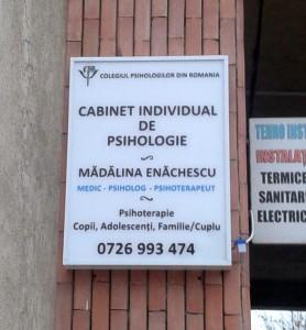 Firme Luminoase Craiova | Casete Luminoase Craiova | Medic Psiholog Madalina Enachescu Craiova | cabinet psihologie Craiova | publicitate Craiova