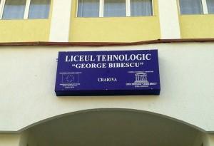 Firme Luminoase Craiova | Casete Luminoase Craiova | Liceul Tehnologic George Bibescu Craiova | George Bibescu Craiova | publicitate Craiova