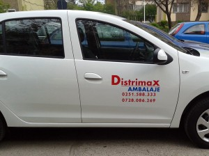 Colantare auto craiova | Distrimax Ambalaje craiova | publicitate craiova