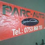 Banner poliplan mari dimensiuni craiova | parc auto craiova | publicitate craiova