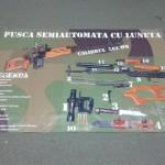 Banner poliplan mari dimensiuni craiova | pusca semiautomata cu luneta calibrul 7,62 mm | publicitate craiova