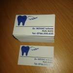 Carti de vizita craiova | printuri craiova | medic stomatolog craiova | publicitate craiova