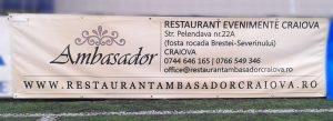Banner poliplan mari dimensiuni craiova | bannere poliplan craiova | restaurant ambasador center craiova | publicitate craiova