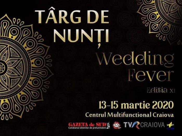 "Cover Targul de nunti ""Wedding Fever"" 2020 Editia a XI-a Craiova | Agentie de publicitate Camera Media Craiova"