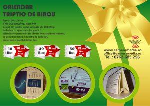 Calendar Triptic Birou Personalizat 2019 Craiova Tiparituri Craiova Promotionale Craiova Calendare Personalizate Craiova 2019 agende Personalizate Craiova 2019