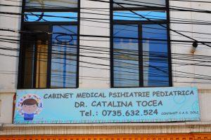 Banner poliplan mari dimensiuni craiova | cabinet medical psihiatrie pediatrica catalina tocea | publicitate craiova | dr catalina tocea craiova