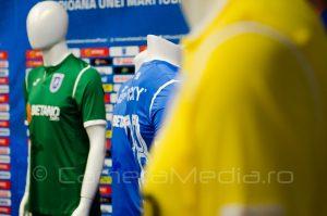 Echipament Sportiv Universitatea Craiova Sezon 2018-2019   Joma   Agentie de publicitate Camera Media Craiova   Mirko Pigliacelli   Alexandru Cicaldau