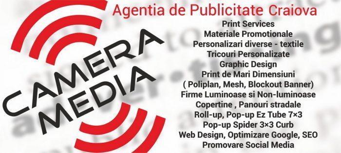 Oferta Publicitate Craiova Agentie de publicitate Camera Media Craiova