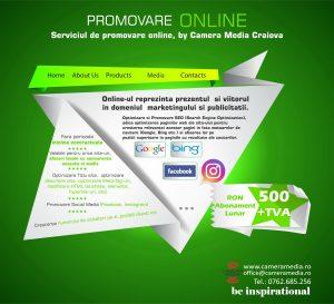 Promovare ONLINE, by Agentia de Publicitate Camera Media Craiova