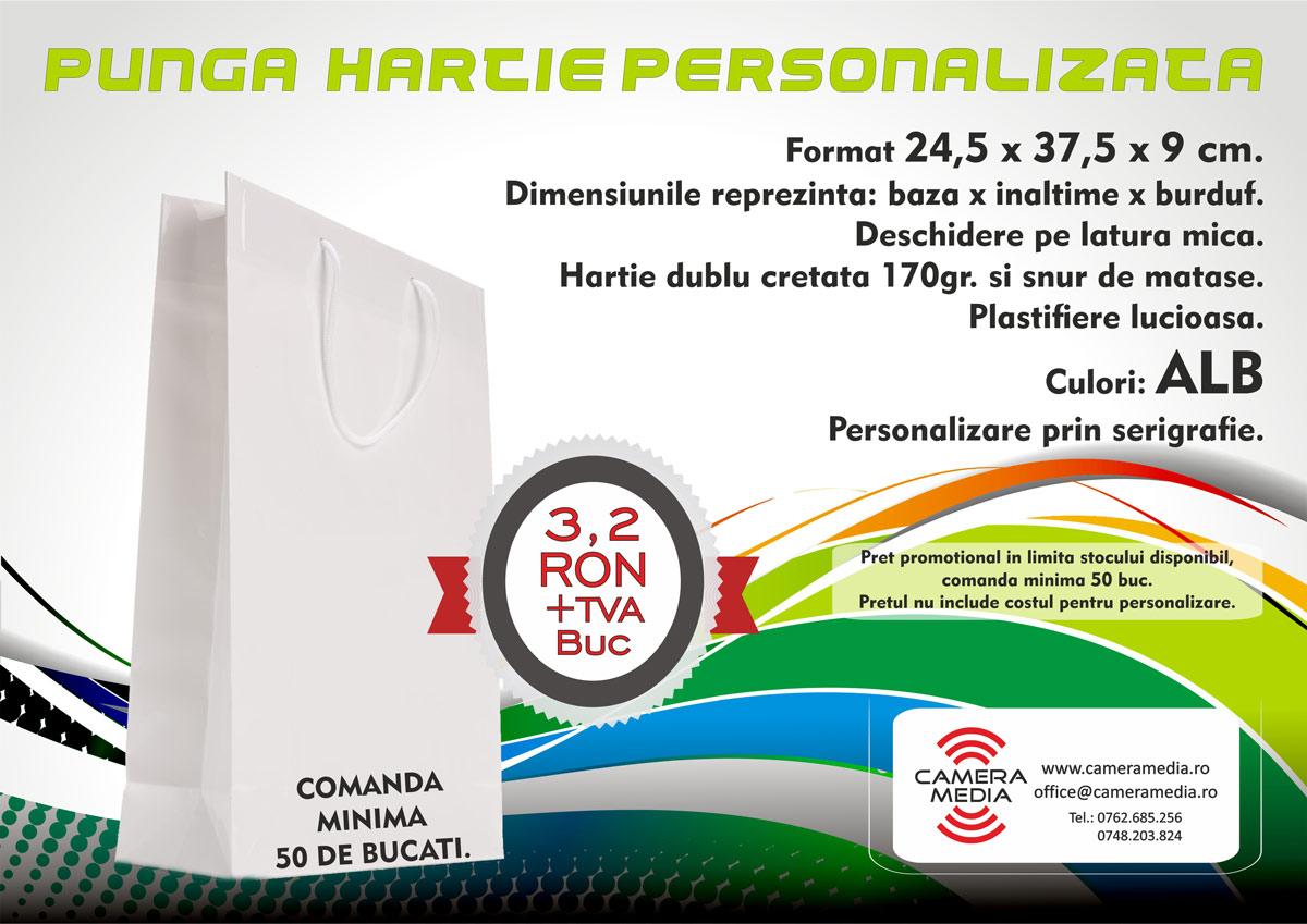 Punga personalizate Hartie Craiova | serigrafie craiova | Broderie computerizata craiova | personalizari textile craiova | publicitate craiova