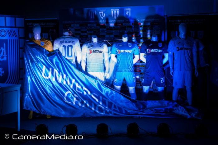 Echipament Sportiv Universitatea Craiova Sezon 2019-2020 | Joma | Agentie de publicitate Camera Media Craiova