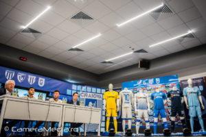 Echipament Sportiv Universitatea Craiova Sezon 2019-2020 | Joma | Alexandru Mihai Roman | Mirko Pigliacelli | Agentie de publicitate Camera Media Craiova |