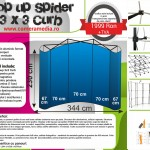 Pop Up Spider 3 x 3 Curb