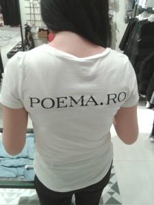 Tricouri personalizate craiova | serigrafie craiova | poema craiova | poema romania | personalizari textile craiova | publicitate craiova